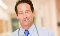 Physician who was skeptical about working with Gulf Atlantic medical malpractice insurance company.